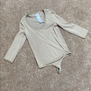 *DESIGNER* Wolford 3 quarter sleeve bodysuit